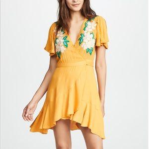 Cleobella Marigold Lillian Embroidered Dress